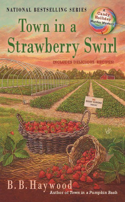 cover art town in a strawberry swirl