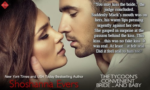 The Tycoon's Convenient Bride...and Baby by Shoshanna Evers Quote Pic 2